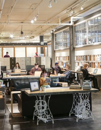 Coworking community space with tons of room for growth