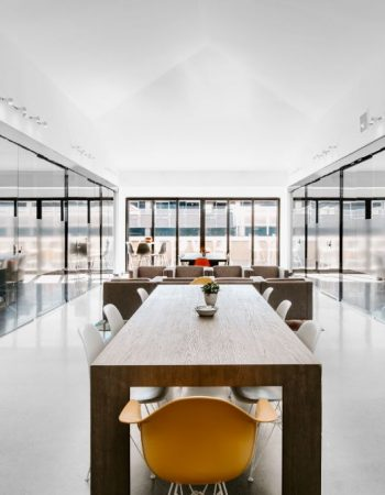 Ultra high-end modern coworking space in wealthy Denver district