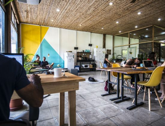 Coworking business by the beach in Costa Rica